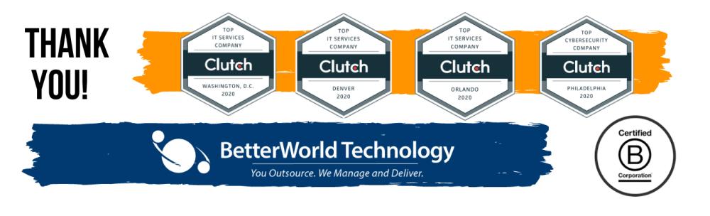 BetterWorld Top IT Services