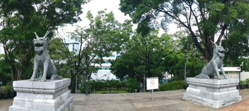 CityU University entrance!