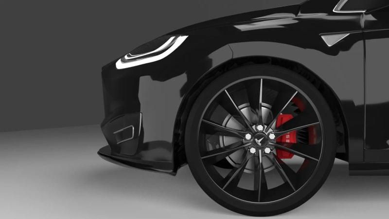 Side Tesla Model X