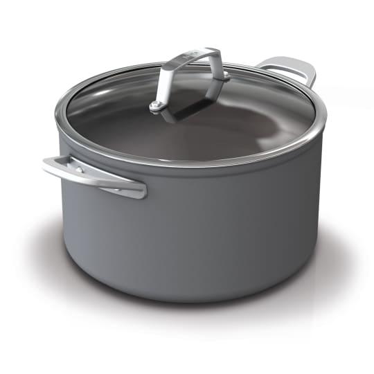 Premium Hard-Anodized 8-quart Stock Pot with Glass Lid Ninja™ Foodi™ NeverStick™  product photo