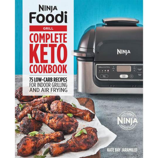 Ninja Foodi Grill Complete Keto Cookbook product photo
