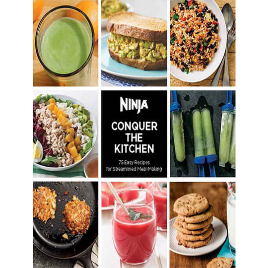 Conquer The Kitchen - 75-Recipe Book product photo