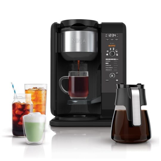 Ninja® Hot & Cold Brewed System™ with Glass Carafe product photo