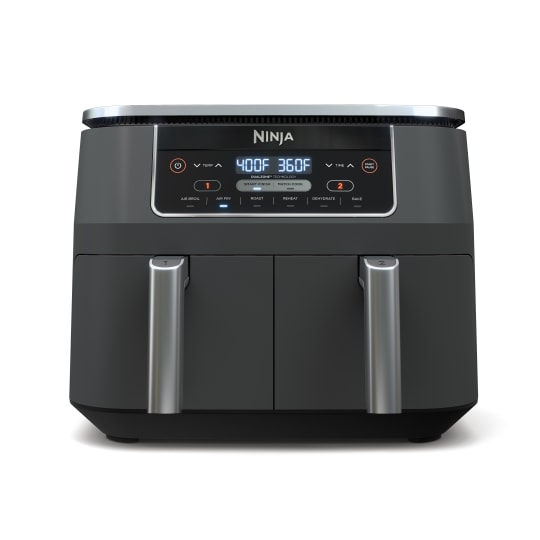 Ninja® Foodi™ 6-in-1 8-qt. 2-Basket Air Fryer with DualZone™ Technology product photo