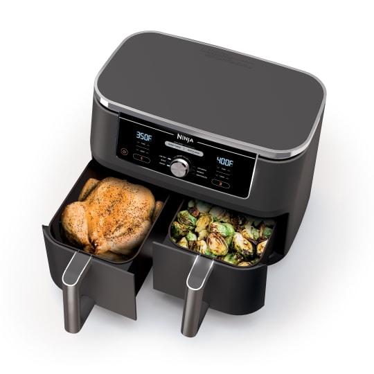 Ninja®Foodi®6-in-110-qt.XL2-BasketAir Fryer withDualZone™ Technology product photo