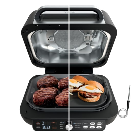 Ninja® Foodi® Smart XL Pro Grill & Griddle with Built-In Thermometer product photo