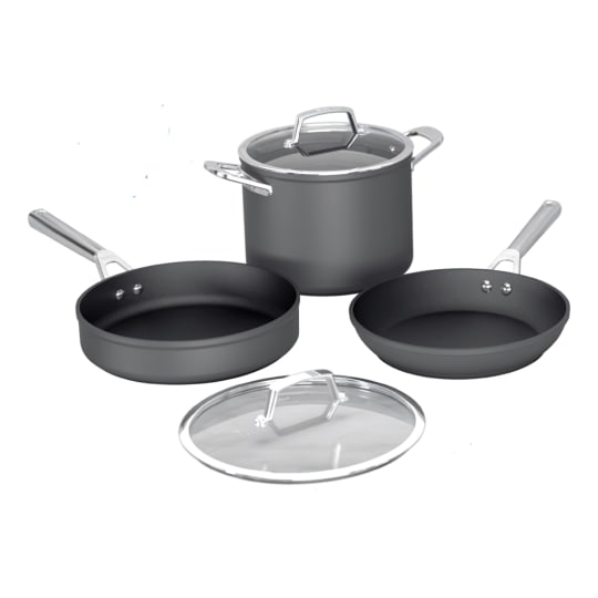 Premium Hard-Anodized 5-Piece Cookware Set Ninja™ Foodi™ NeverStick® product photo