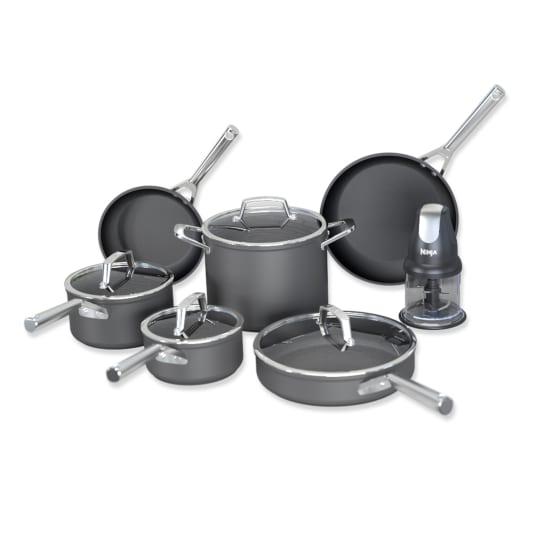 Premium Hard-Anodized 10-Piece Cookware Set Ninja™ Foodi™ NeverStick® product photo