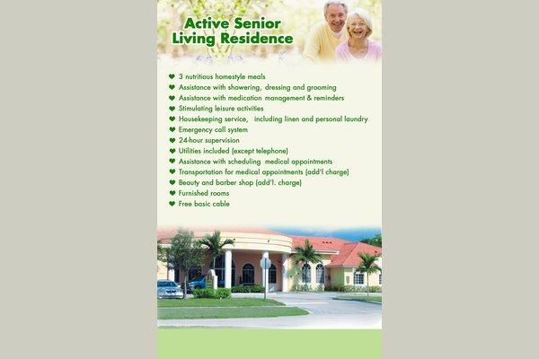 Active Senior Living Residence  71275