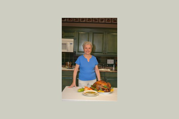 Middlewoods of Farmington helen with turkey
