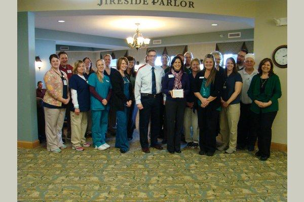 Kingsway Retirement Living kingsway SeniorAdvisor Award Staff Picture