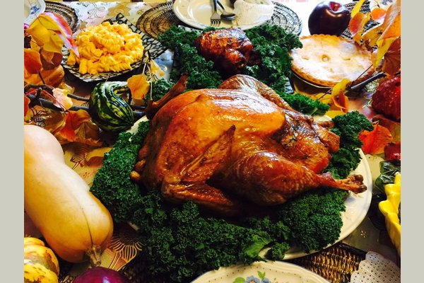 Thanksgiving Party at Touch of Care Senior Living