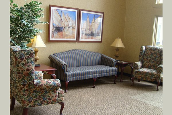 More of our common areas.  Part of our atriums (we have two of them).  Plenty of space to entertain friends and family.