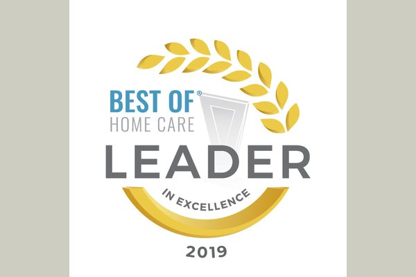 Based on client and caregiver feedback -- 181 of these awarded across the nation, only one in Houston.  To us.  So proud.