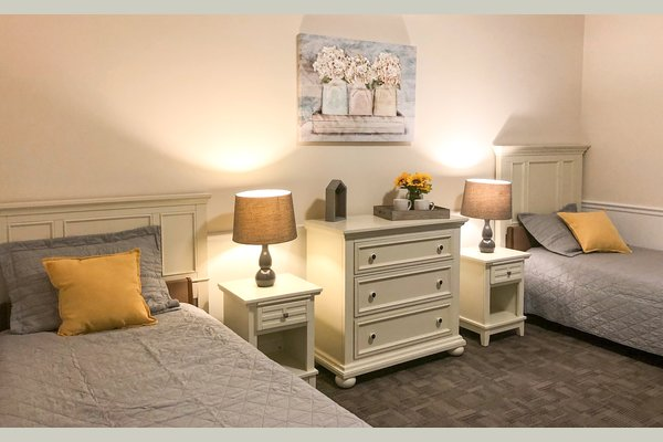All rooms come fully furnished.
