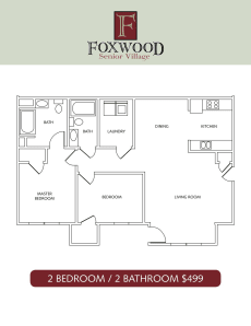 Foxwood Senior Village