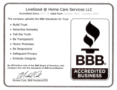 LiveGood@Home Care LLC