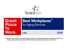 Senior Star at Weber Place