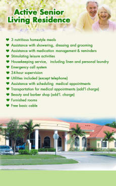Active Senior Living Residence