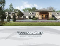 Woodland Creek Alzheimer's Special Care Center (Opening Late 2019)