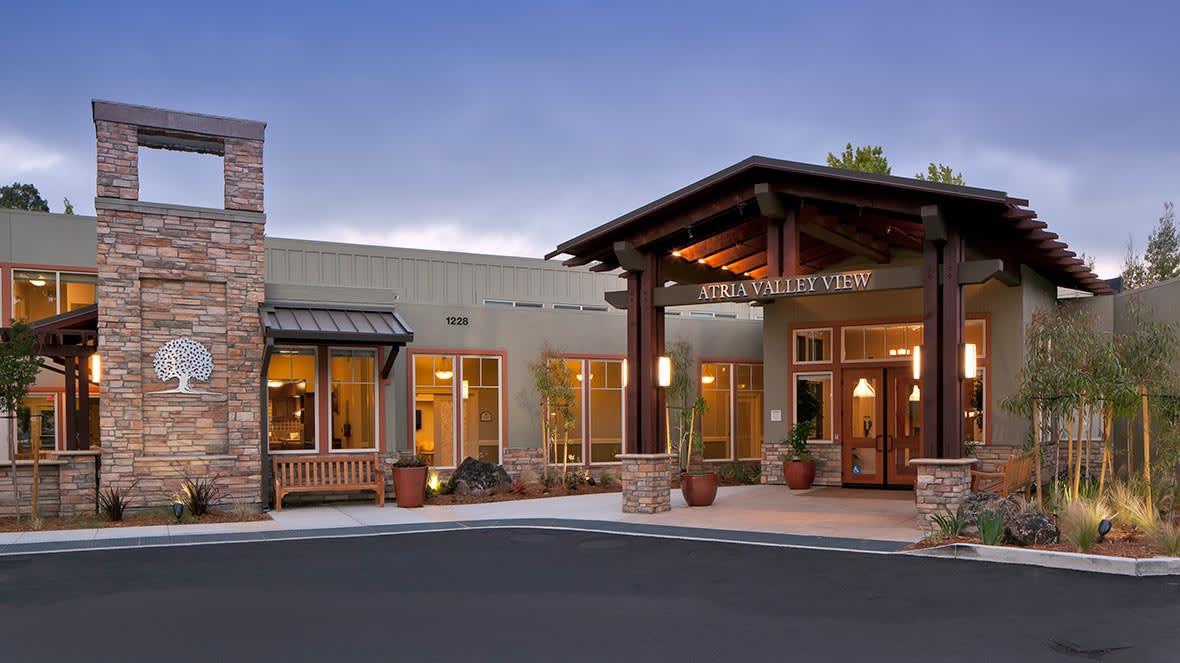 Atria Valley View Community Entrance