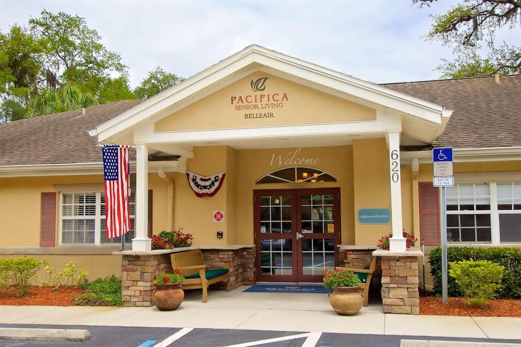 Pacifica Senior Living Belleair Facility Entrance