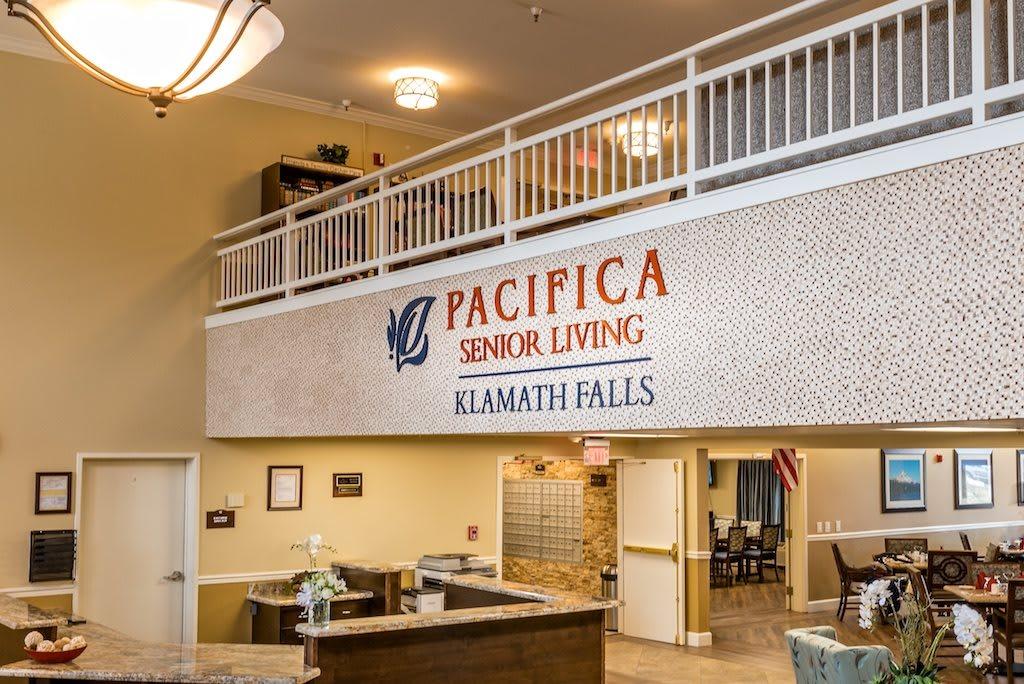Pacifica Senior Living Klamath Falls Lobby