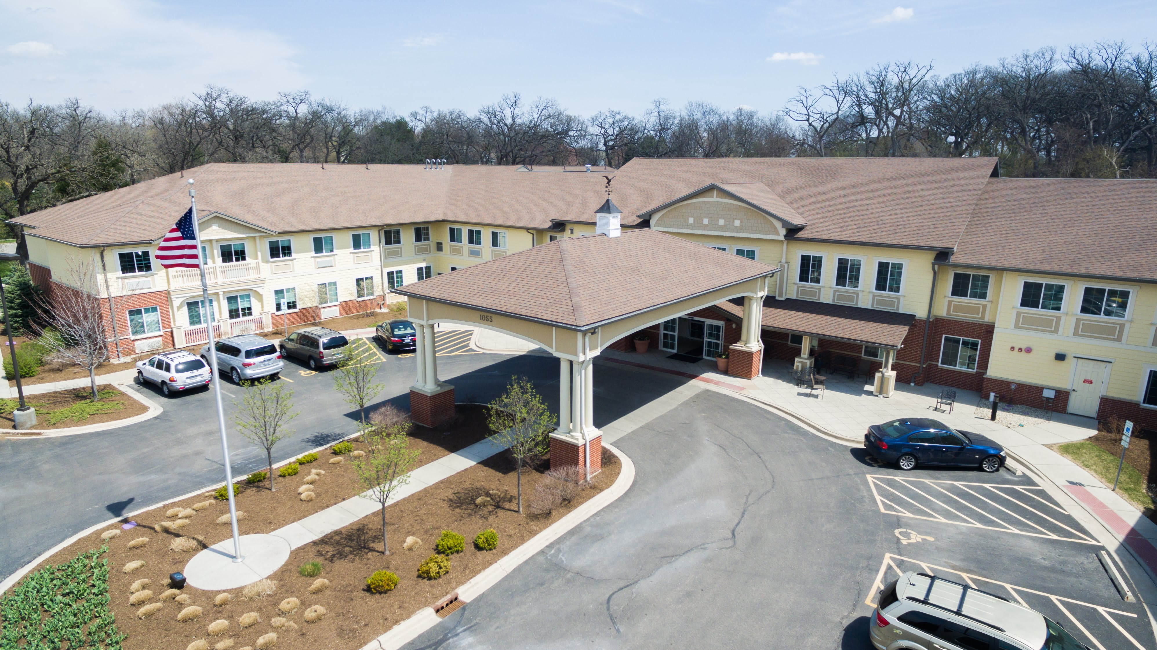 Three Oaks Assisted Living Facility Exterior