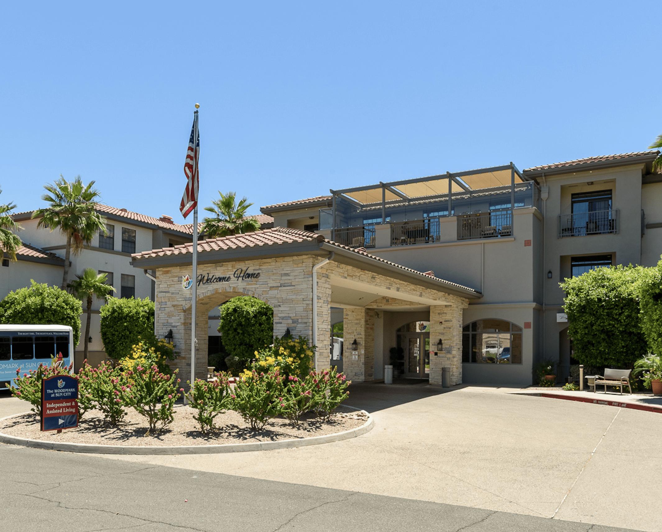 The Woodmark at Sun City Facility Entrance