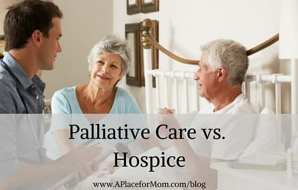 Palliative Care vs. Hospice