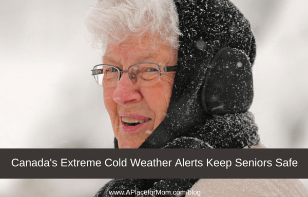 Canada's Extreme Cold Weather Alerts Keep Seniors Safe