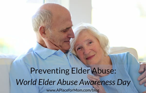 Preventing Elder Abuse: World Elder Abuse Awareness Day