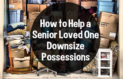 How to Help a Senior Loved One Downsize Possessions