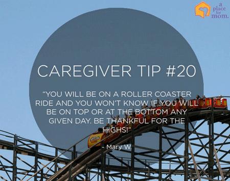 A Place for Mom Caregiver Tip 20