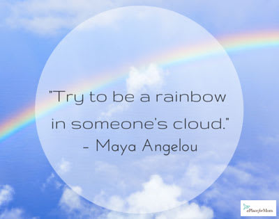 Quote Be A Rainbow