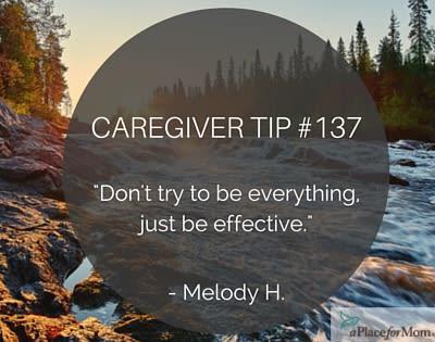 Caregiver Tip #137
