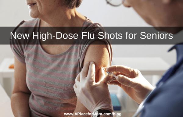 New High-Dose Flu Shots for Seniors
