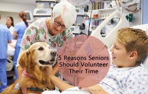 5 Reasons Seniors Should Volunteer Their Time
