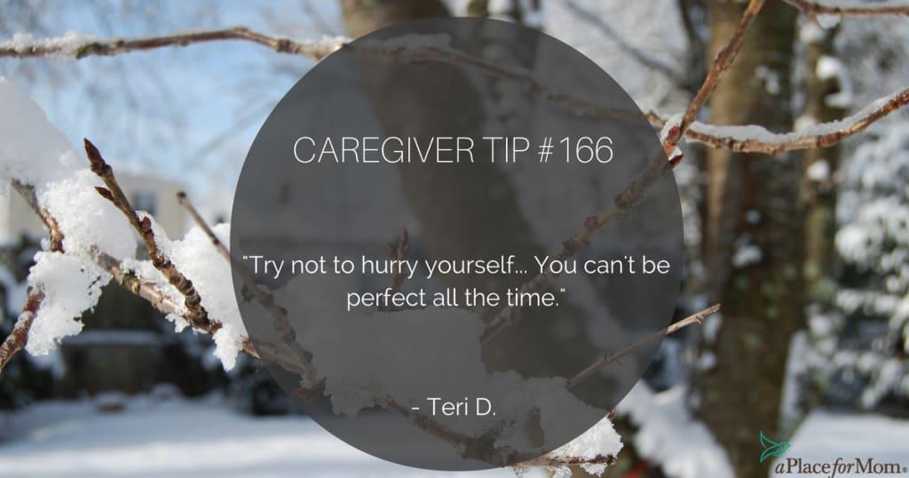 Caregiver Tip #166
