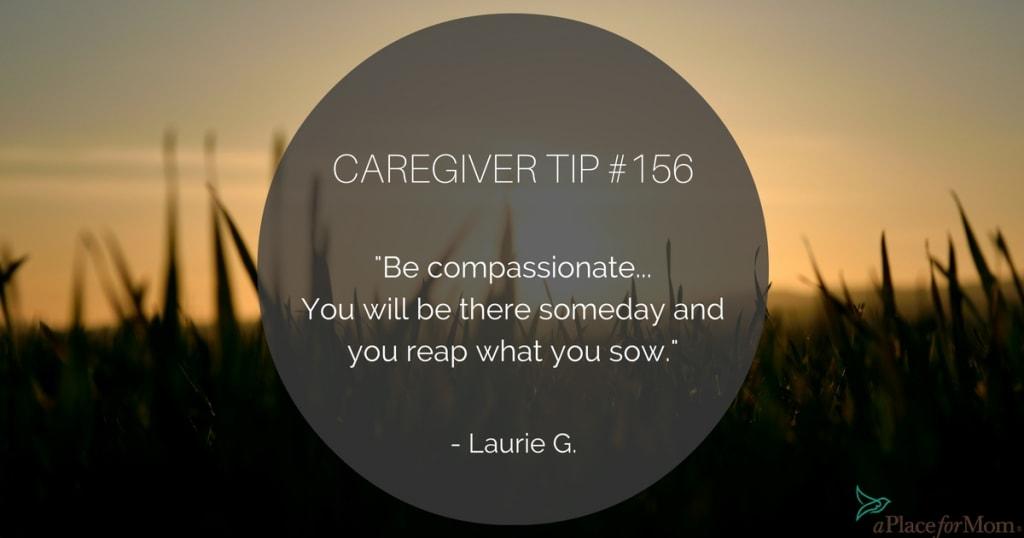 Caregiver Tip #156