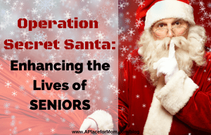 Operation Secret Santa: Enhancing The Lives Of Seniors