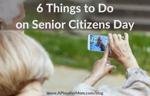 6 Things to Do on Senior Citizens Day