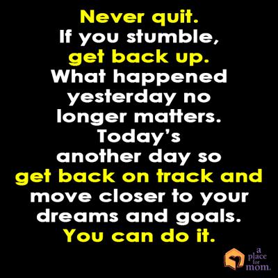 Quote: Never Quit