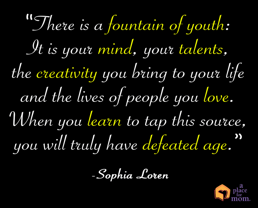 Quote Fountain of Youth