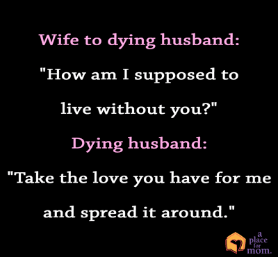 Quote: Wife to Husband