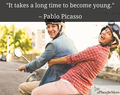 A Long Time to Become Young