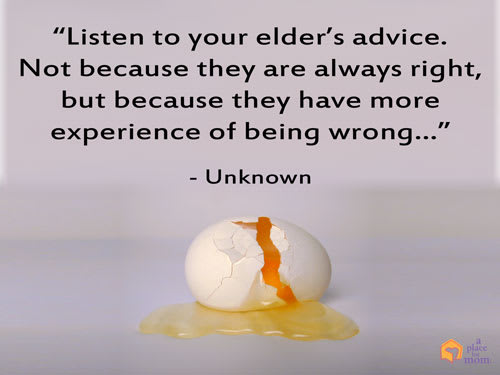 Quote: Listen To Elders Advice