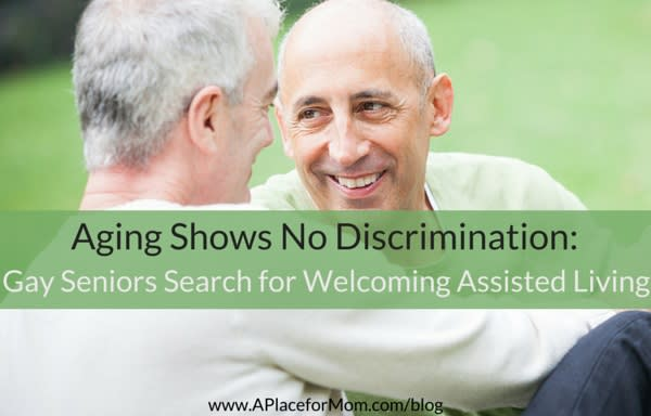 Aging Shows No Discrimination: Gay Seniors Search for Welcoming Assisted Living