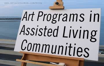 Art Programs at Assisted Living