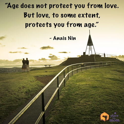 Love and Age Quote by Anais Nin